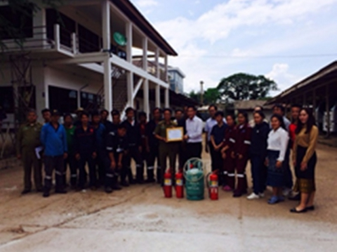 fire fighting training on 6 july 2018